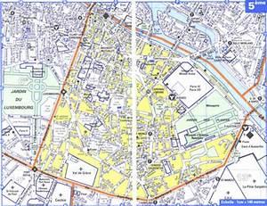 carte 5eme arrondissement paris my blog With serrurier paris 5eme