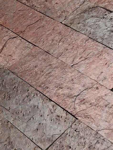copper slate subway backsplash tile backsplashcom