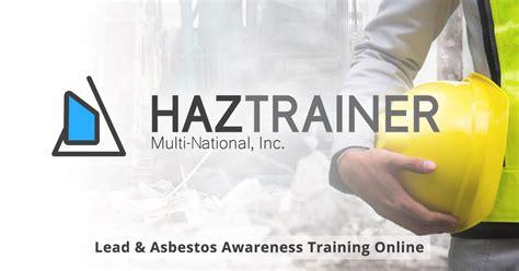 asbestos awareness training lead awareness training
