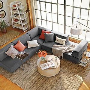 sectional and round coffee table style me this pinterest With round coffee table with sectional sofa
