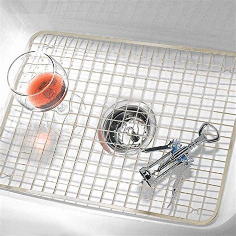 kitchen sink protector grid interdesign kitchen sink protector wire grid mat 5911