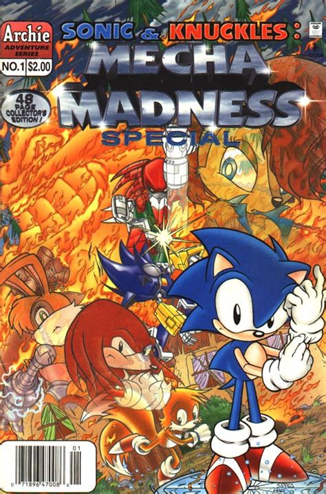 archie sonic knuckles mecha madness special sonic