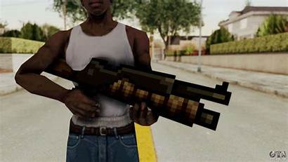 Gta Slug Metal Heavy Machinegun Andreas San