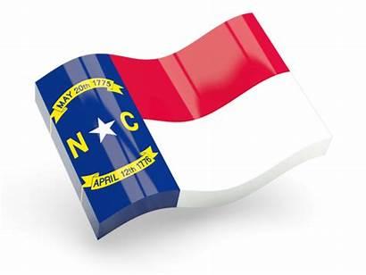 Carolina North Flag Icon Glossy Wave Px