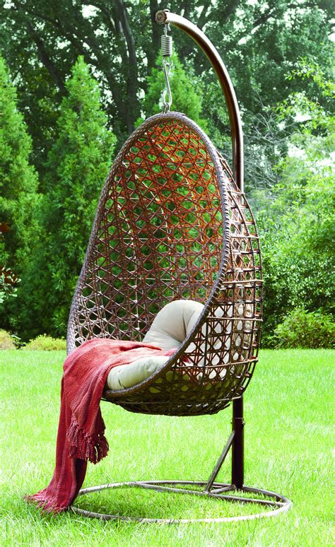 hanging chairs outdoor furniture together with renava oahu outdoor hanging outdoor hanging chair for relaxing outdoor