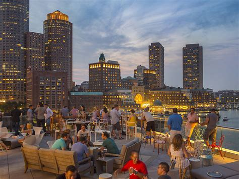 rooftop bars  boston  great views  breezes