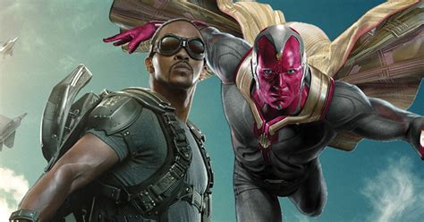 paul bettany  anthony mackie  avengers vision