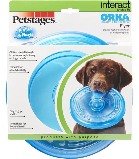 petstages orka flyer dog fetch toy pet warehouse