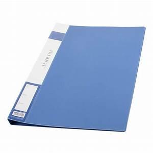 Metal Clip Binder Blue Plastic Document File Folder Holder ...  File