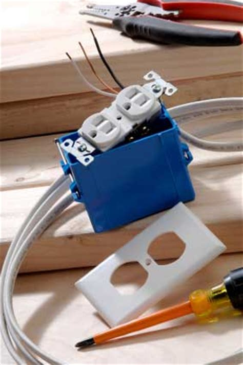 simple steps  installing electrical outlets