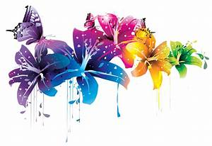 ++ Colorful Flower Vector Clipart PNG by BrielleFantasy on ...