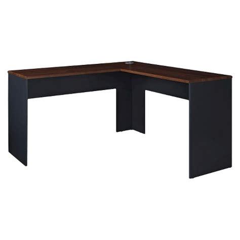 Target Desk L by Eastcrest Contemporary L Shaped Desk Cherry Slate Gray