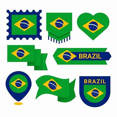 Clipart Flag Vector Brazilian Brazil Samba Clip