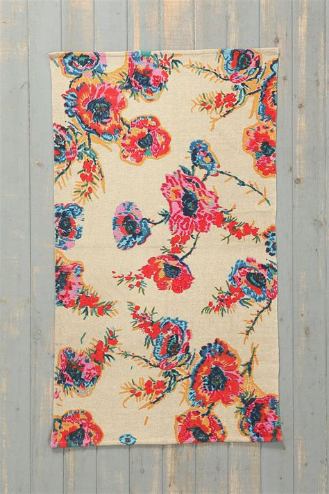 plum and bow rug plum bow ikat floral rug from outfitters