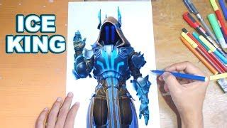 fortnite drawing  ice king   draw max tier ice