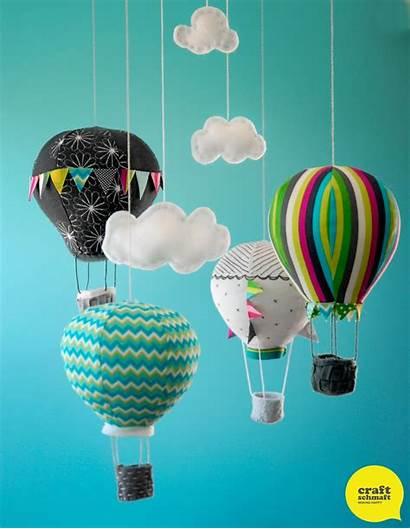 Balloon Mobile Air Softie Anleitung Pattern Fancy