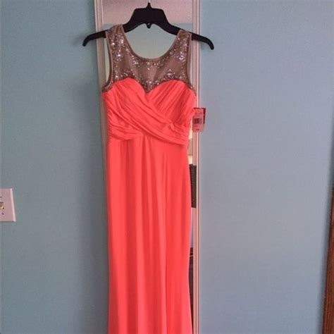 1000 ideas about coral prom dresses on pinterest prom