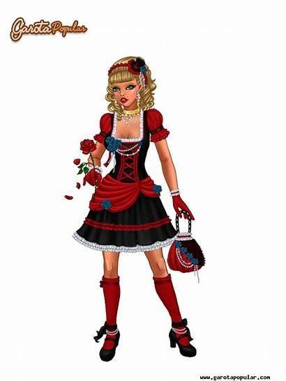 Popular Halloween Garota Looks Lady