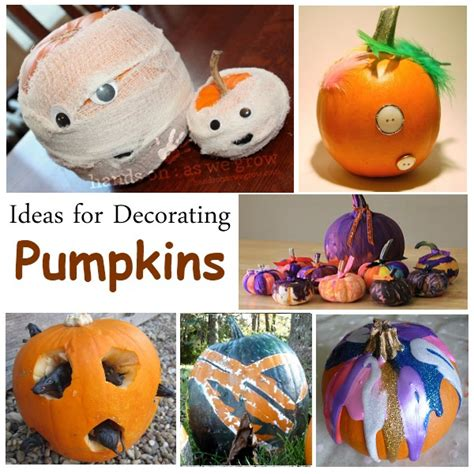 decorate pumpkin lots  ideas