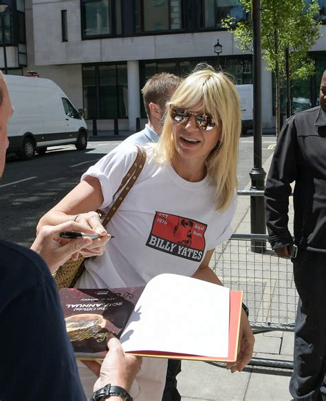 Zoe Ball reveals what's helping her through grief of ...