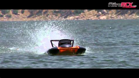 Nitrorcx Boats by Exceed Racing Fiberglass Maximum Gas Powered Speed Boat