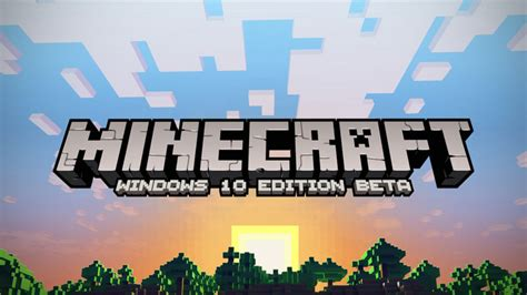 Minecraft Windows 10 Edition (windows)  Download