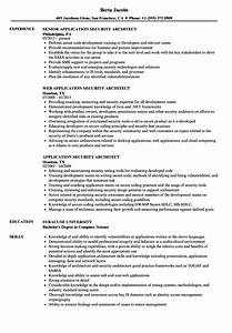 application security architect resume samples velvet jobs With web application security sample resume