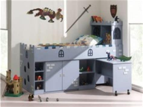 lit surélevé avec bureau intégré meubles pour chambre de chevalier le lit pour enfant de