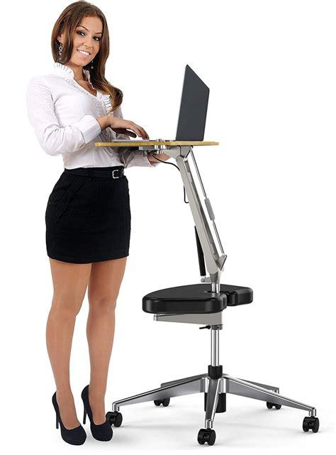 adjustable computer stand roomyroc standing desk with height adjustable footrest
