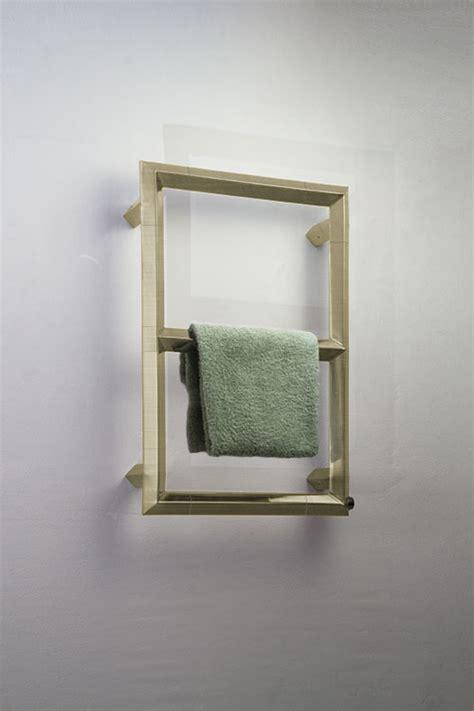 brushed brass diamond towel radiator brass towel rails