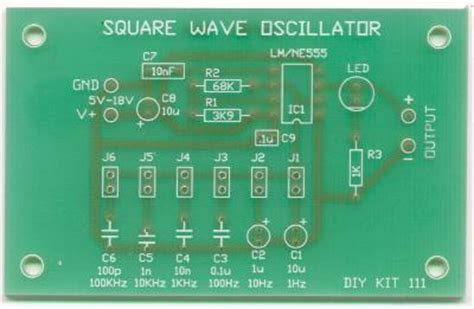 Square Wave Oscillator Kit Quality Electronics Store