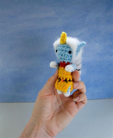 League Of Legends Crochet Mini Amigurumi Soraka By