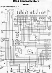 Pontiac Fiero Headlight Wiring Diagram