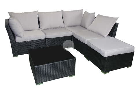 chaise table outdoor sofa lounge with chaise coffee table rattan