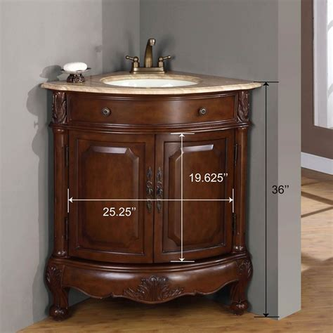Pre Made Mdf Cabinet Doors by Corner Sink Vanity Corner Bathroom Vanity Corner Sink