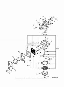 Echo Srm-265t S  N  S70511001001 - S70511999999 Parts Diagram For Carburetor