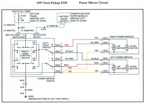 1996 f350 truck wiring diagrams wiring diagram for free