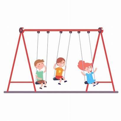 Swing Swinging Kinder Swings Samen Balanco Zwaaien