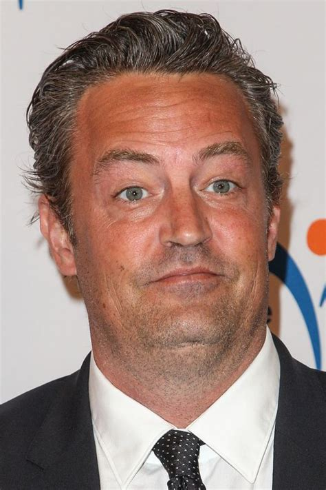 friends actor matthew perry signs autographs