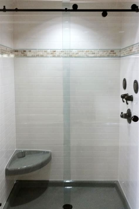tile borders bathroom 3 steps to add trim and borders to diy shower wall panels
