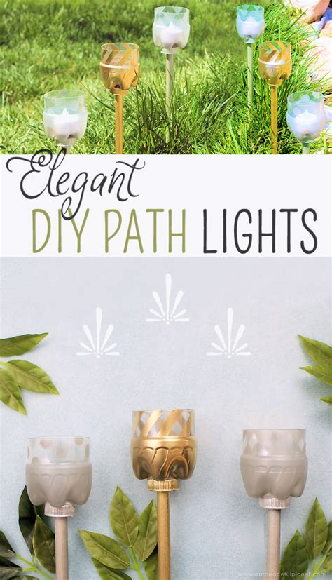 make your own pathway lights how to make your own elegant path lights from soda bottles