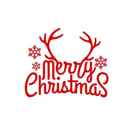 merry christmas tree wall sticker reindeer snowflake car