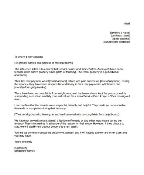 exle reference letter business letters recommendation sles 28 images 48266