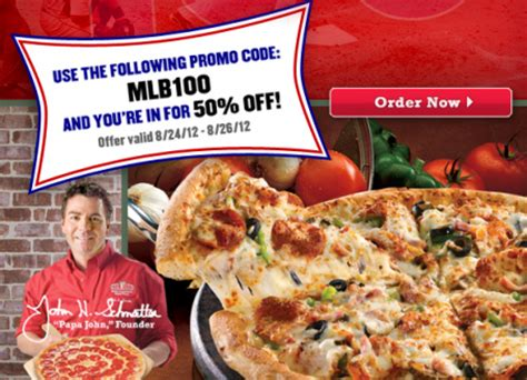 50718 Grand Slam Promo Code Papa Johns by Promo Codes For Papa Johns Brand Discount