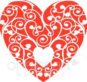 wedding menus and programs white heart clipart heart clipart