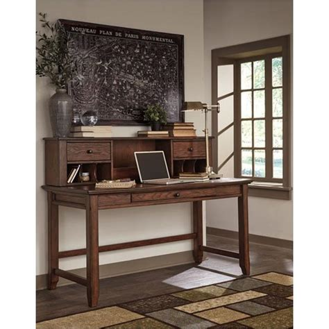 ashley furniture woodboro brown home office desk