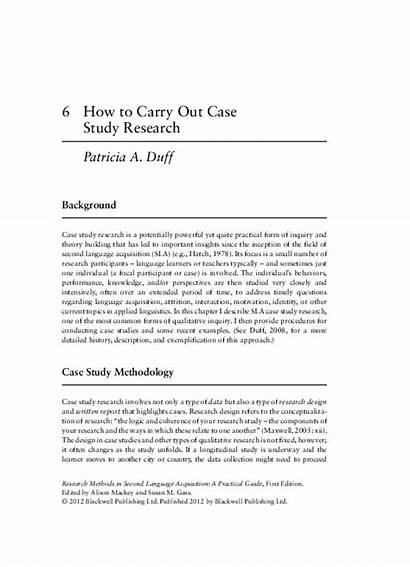 Carry Research Study Case Academia