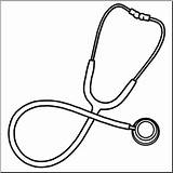 Stethoscope Clip Medical Medicine Drawing Clipart Template Technology Coloring Pages Abcteach Sketch Templates sketch template