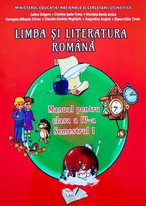 Limba Si Literatura Romana  Manual Pentru Clasa A Iv
