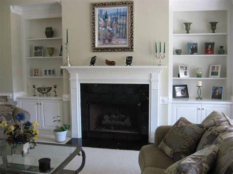 fireplaces  bookshelves   side